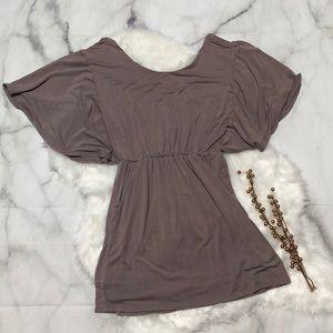 Dresses & Skirts - Flutter Sleeve Mini Dress